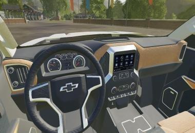 FS19_2020 Chevy Silverado - Trucks - American style modding
