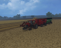 IH and  Clayson New Holland @ work