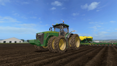 putting beans in the ground