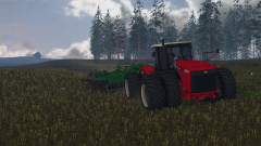 Versatile is putting in its paces on the john deere 2730