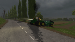 Just a few small tests with a John Deere 2