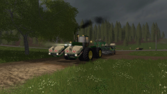 Just a few small tests with a John Deere 4