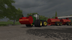 Just a few small tests with a John Deere 1
