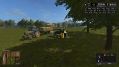 Bringing in third crop