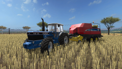 Fs 17 straw harvest
