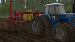 Ford TW 35 MK I Planting potatoes
